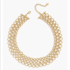 Talbots triple strand rope necklace